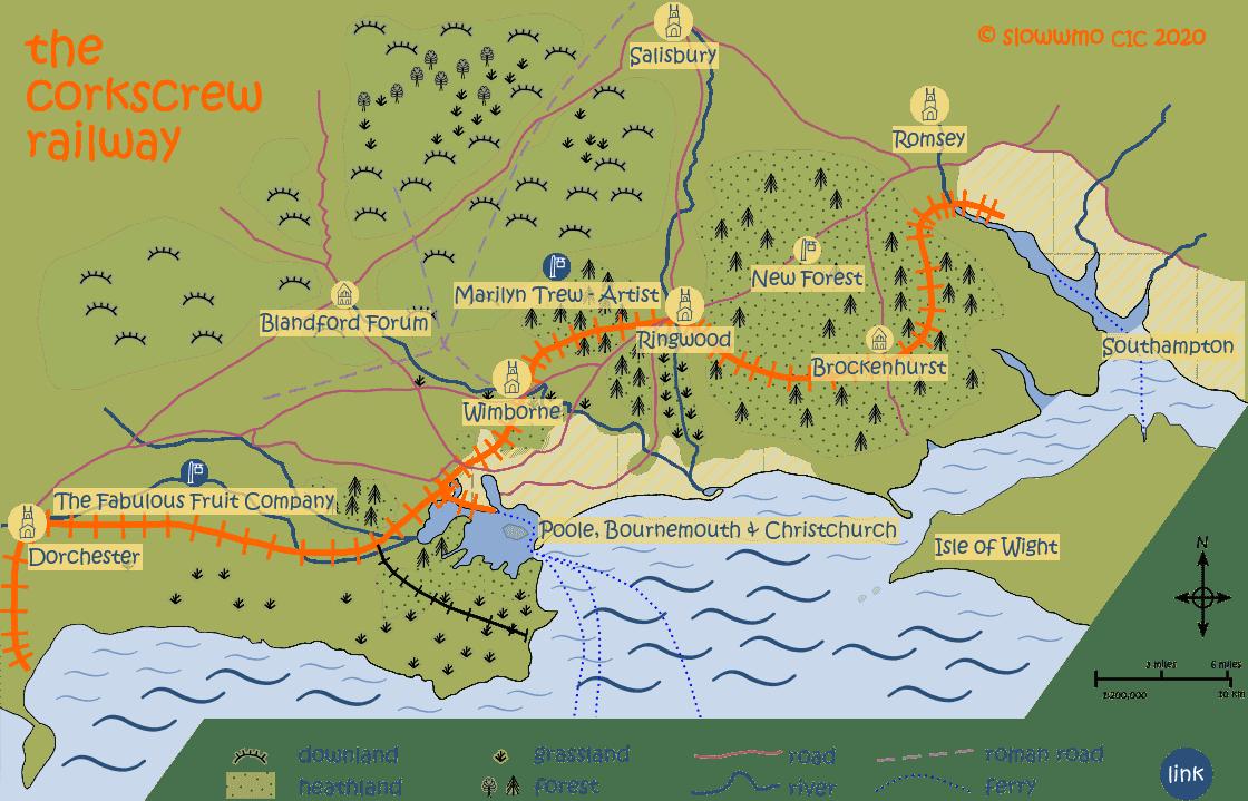 Corkscrew Map - vendor