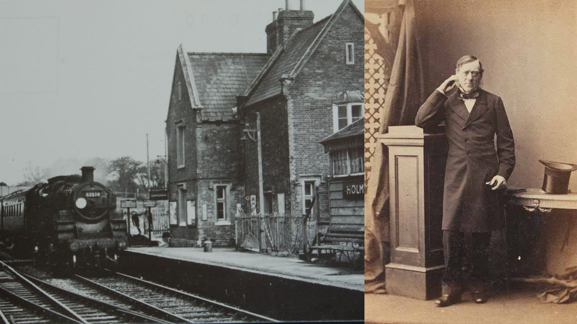 charles_castleman and the Corkscrew railway | The Stour Valley Way