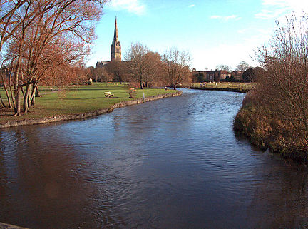 River_Avon_at_Salisbury_   The Avon Valley Path