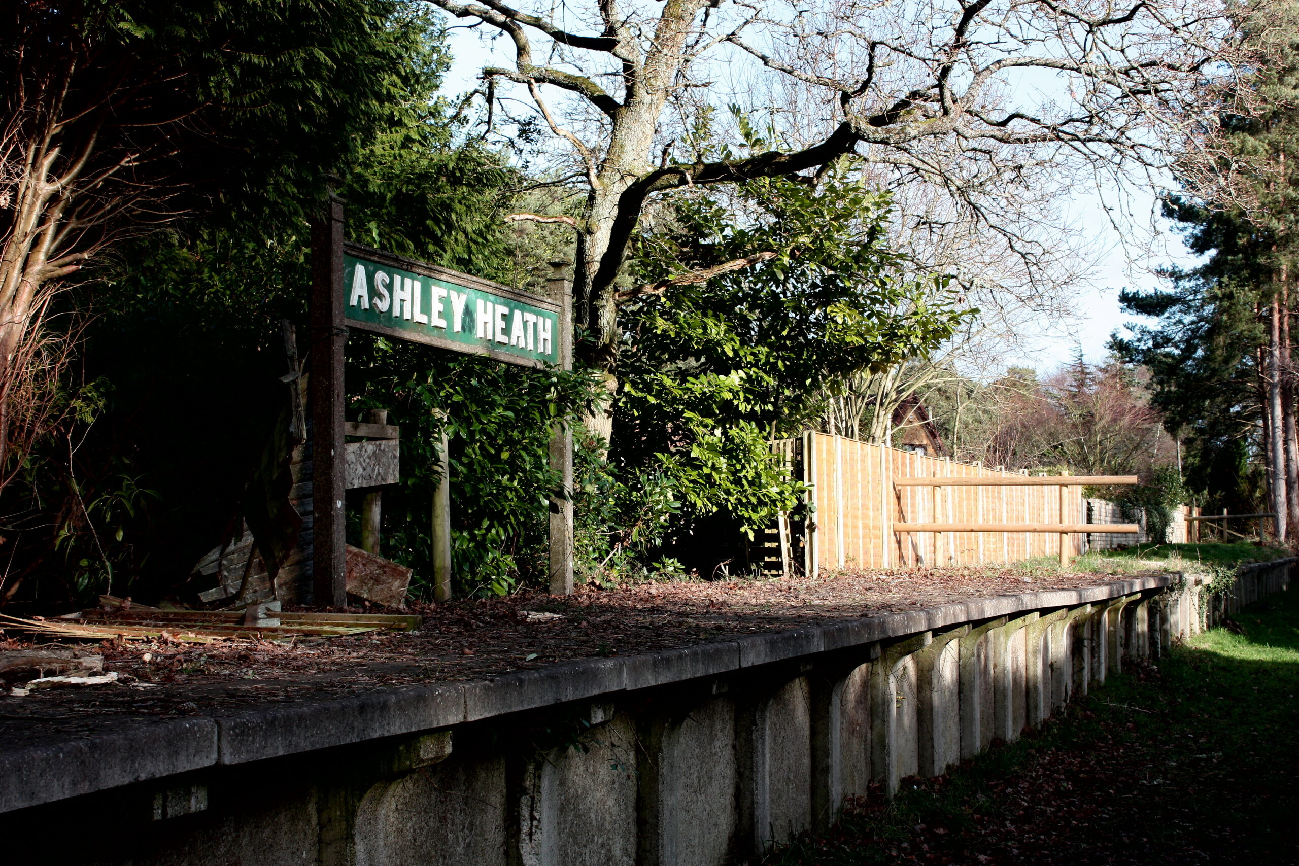 Ashley Heath Castleman Trailway | The Corkscrew Railway
