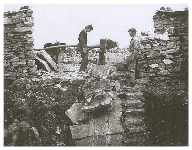 Bonfields   Quarrying