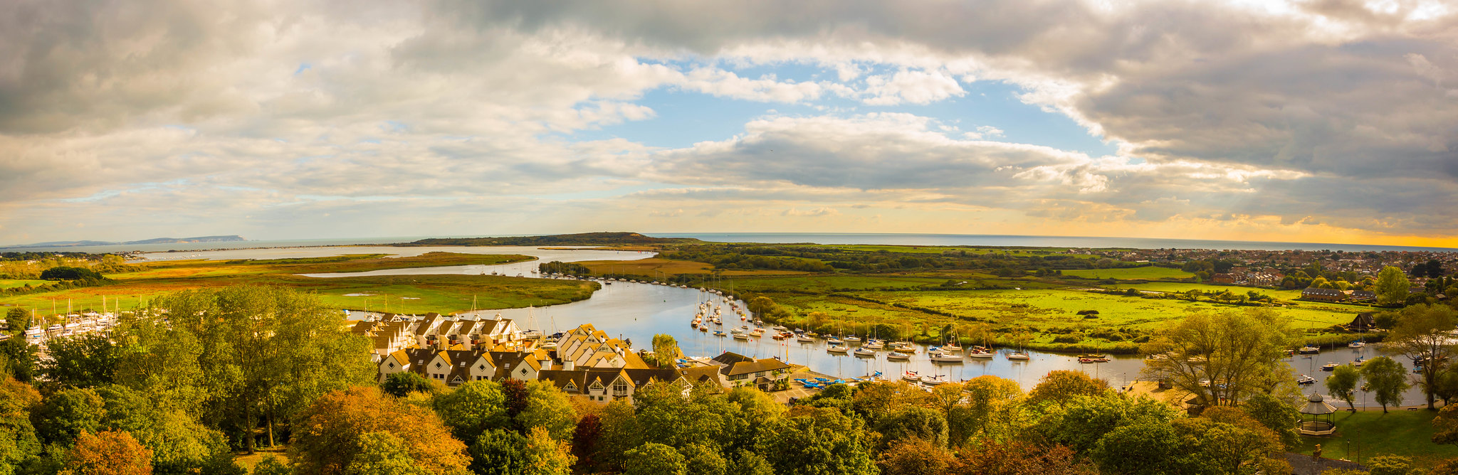 Christchurch Harbour | The Stour Valley Way