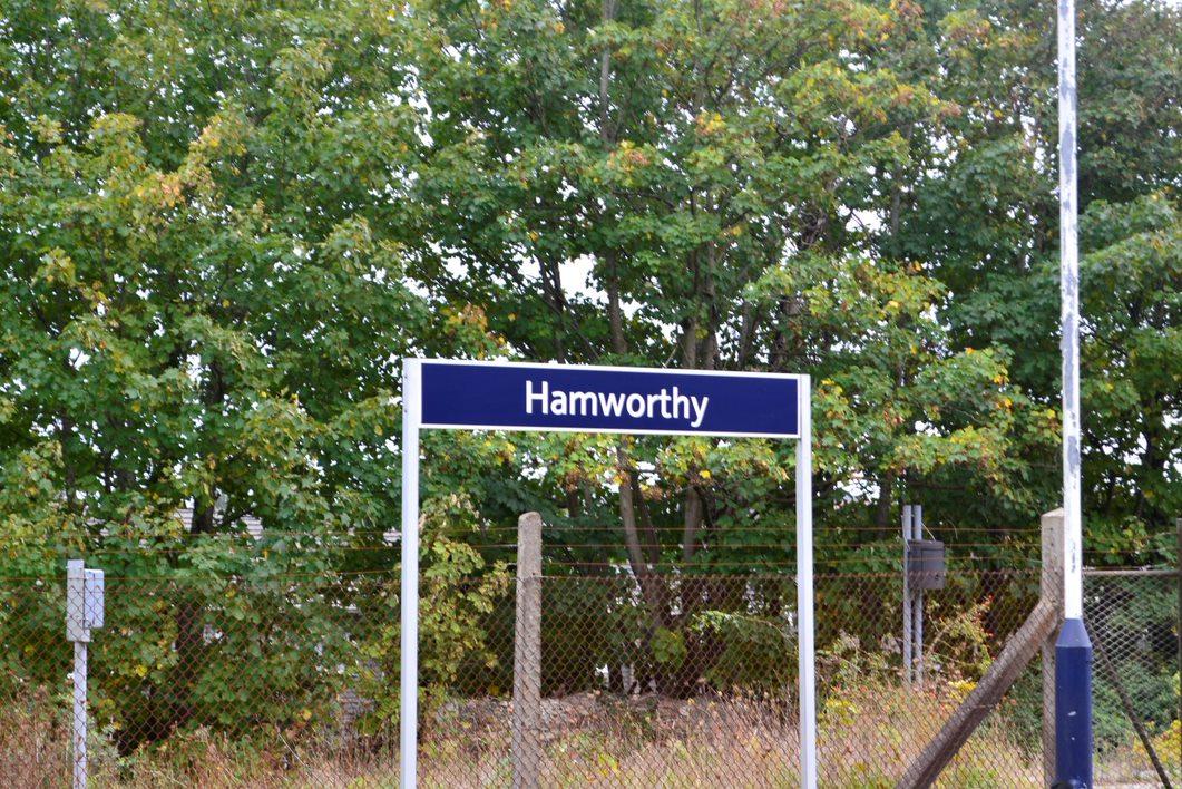 Hamworthy Station sign | Christchurch