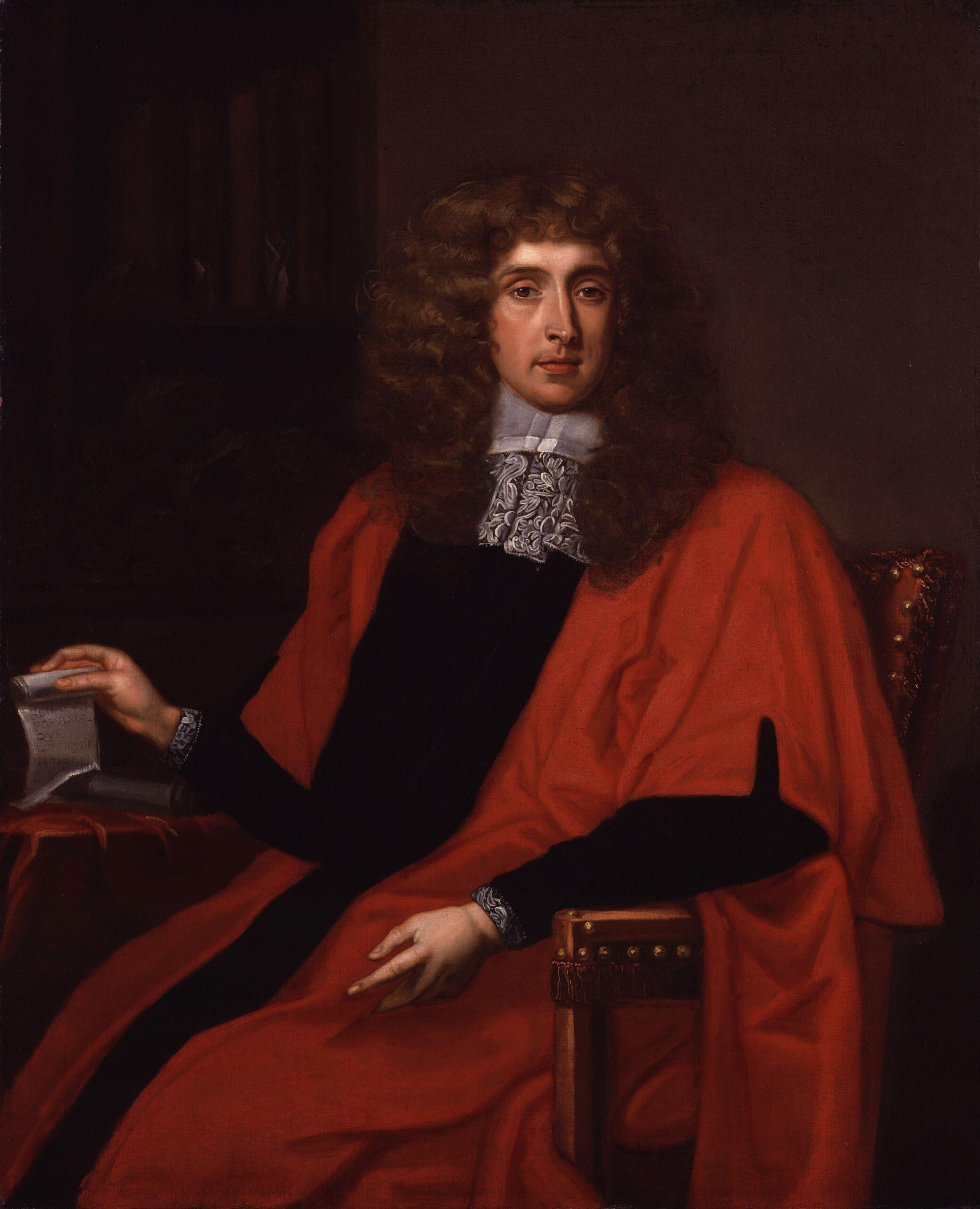 George_Jeffreys_1st_Baron_Jeffreys_of_Wem_by_William_Wolfgang_Claret | The Stour Valley Way