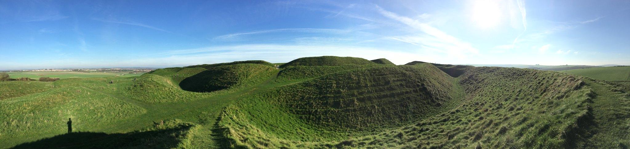 Maiden Castle | The Monmouth Rebellion in Dorset