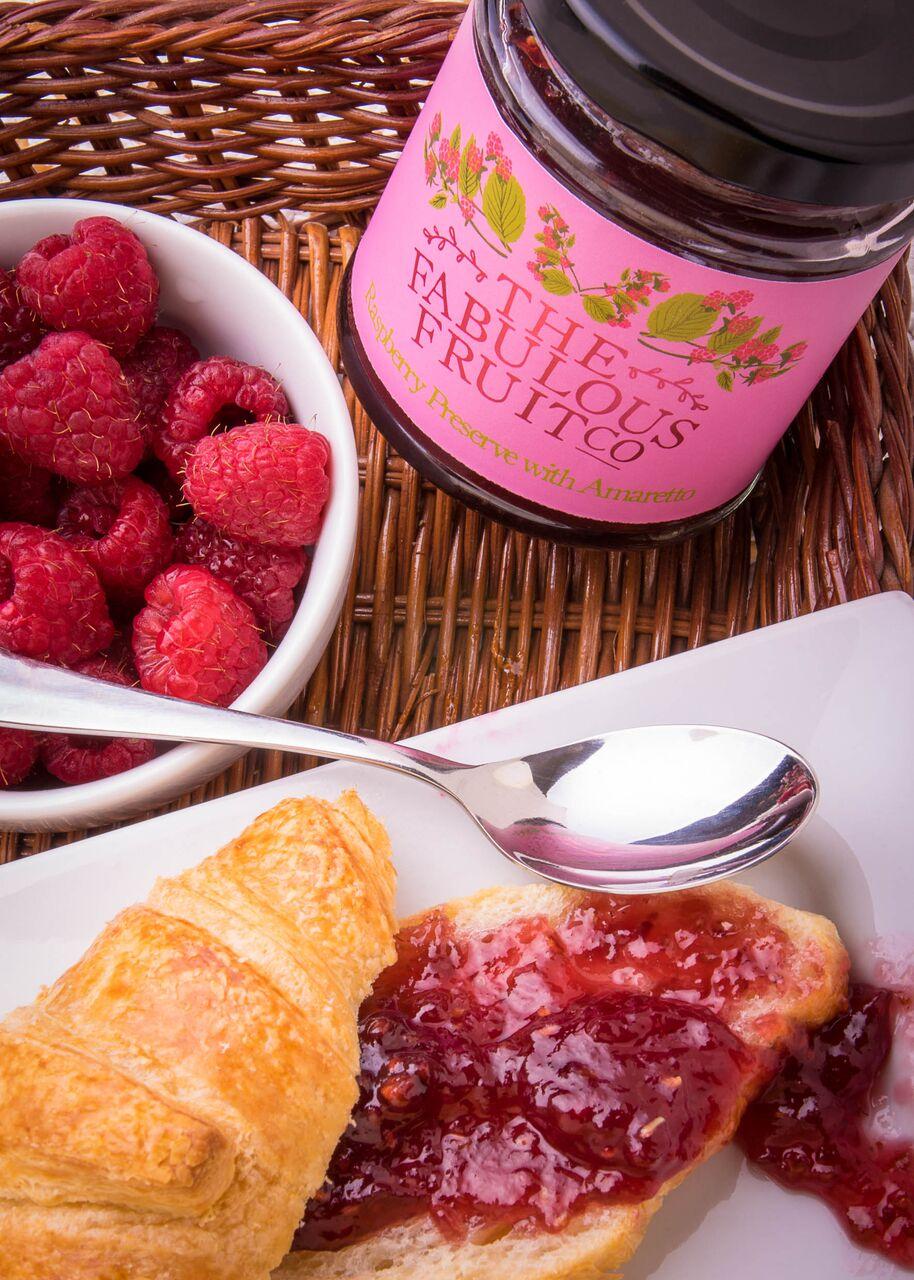 Raspberry Preserve with Amaretto   Raspberry Preserve with Amaretto