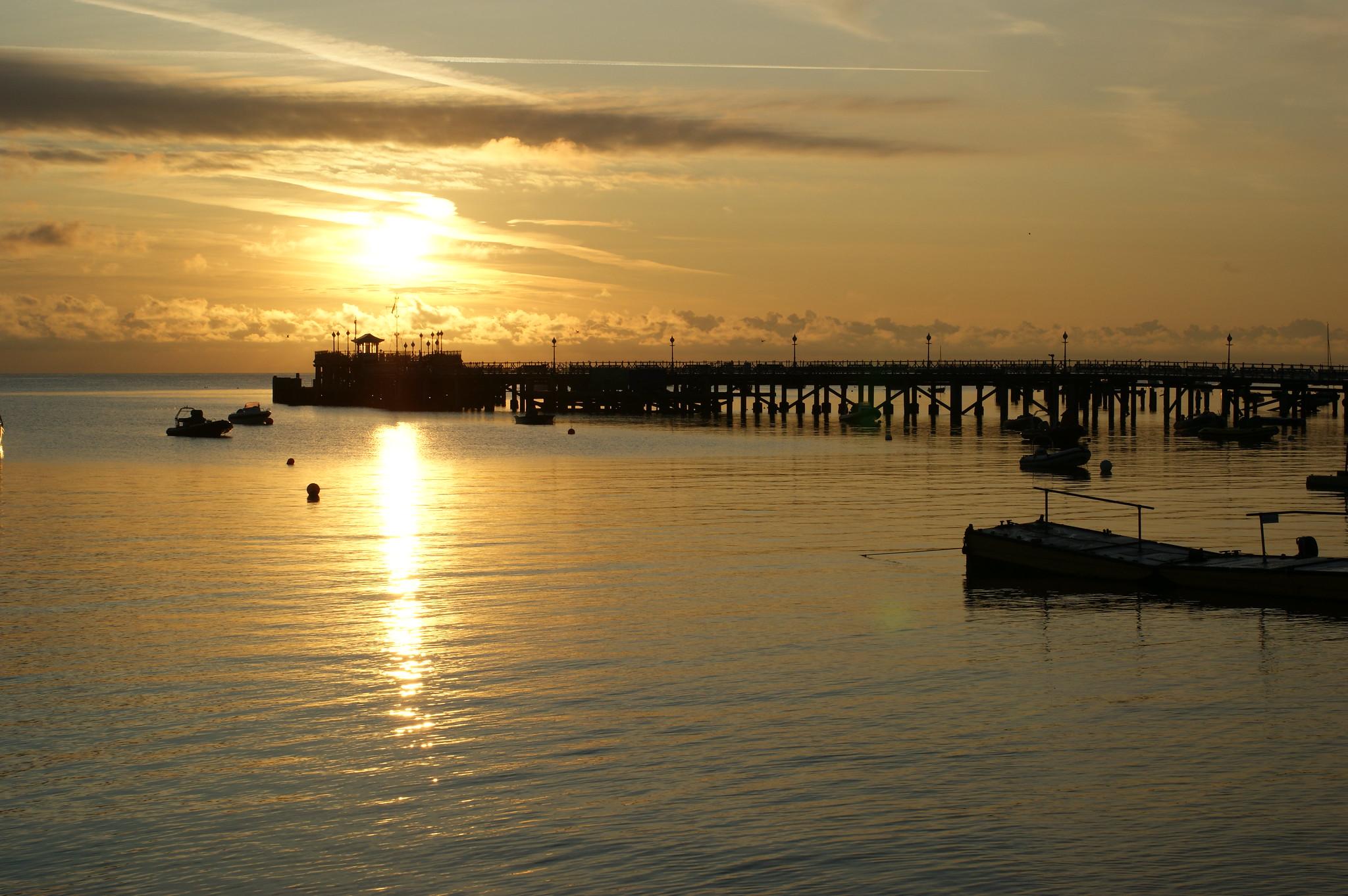 Sunset Swanage pier | Brownsea Island