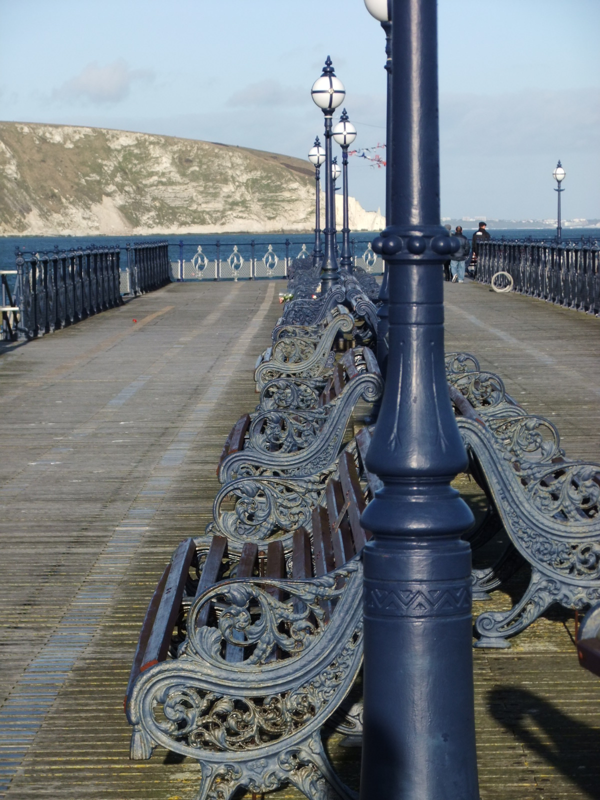 Swanage pier benches | Swanage