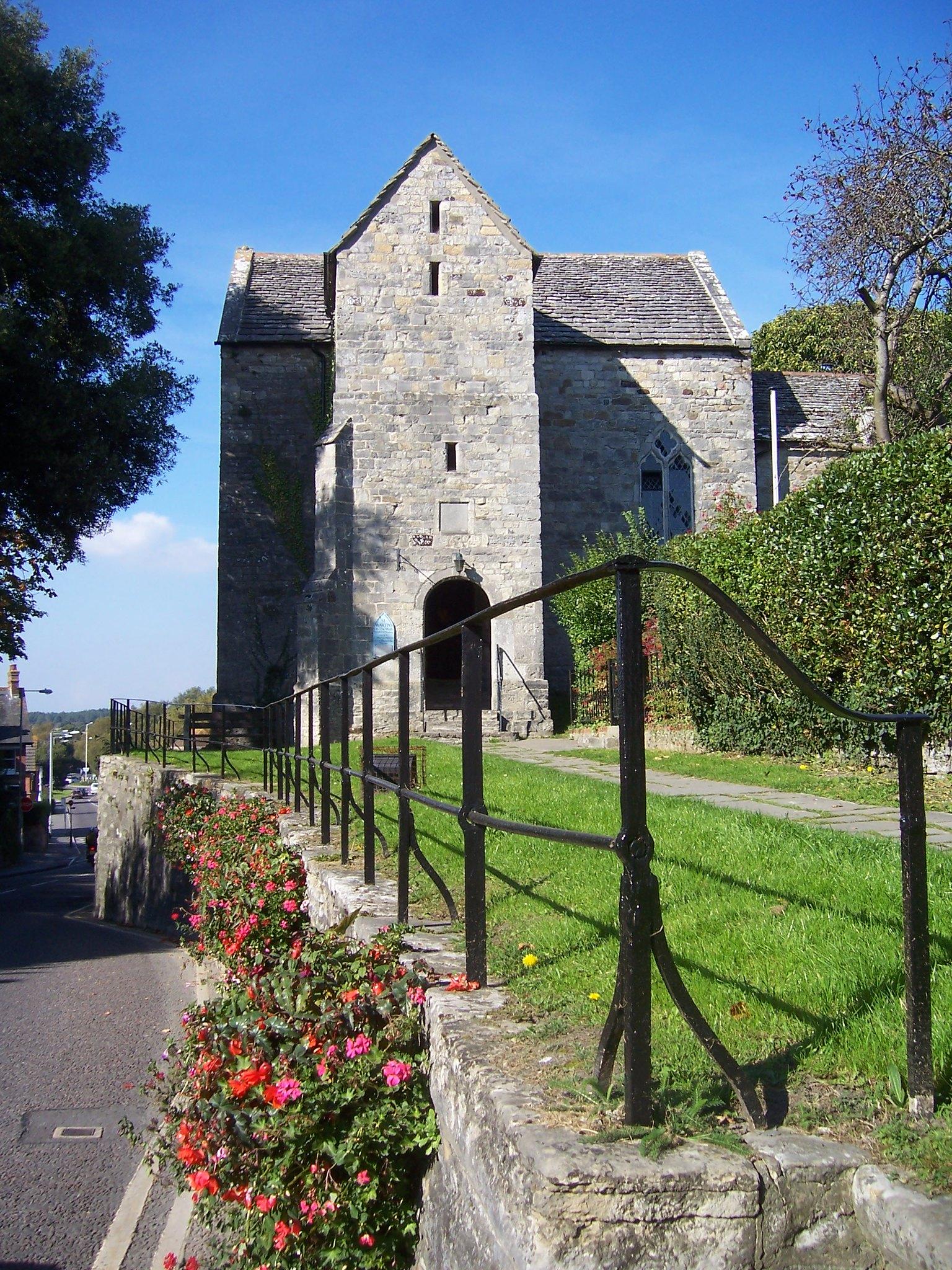 Wareham church and Saxon walls   Wareham