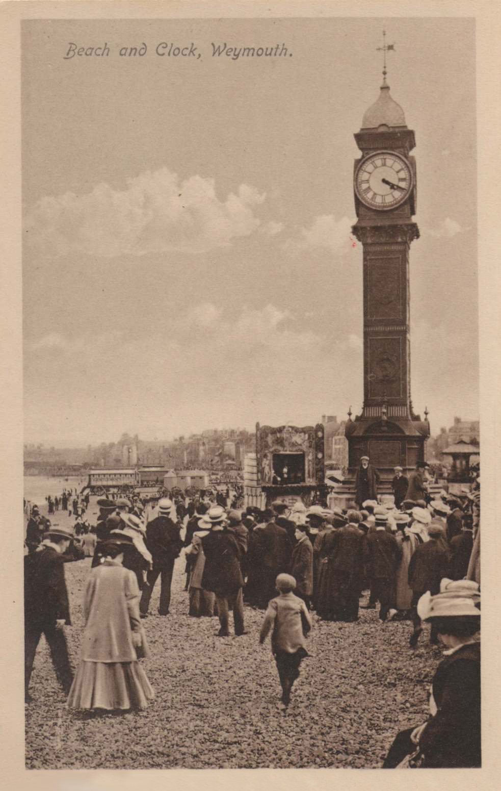 Beach and Clock, Weymouth | Excursions