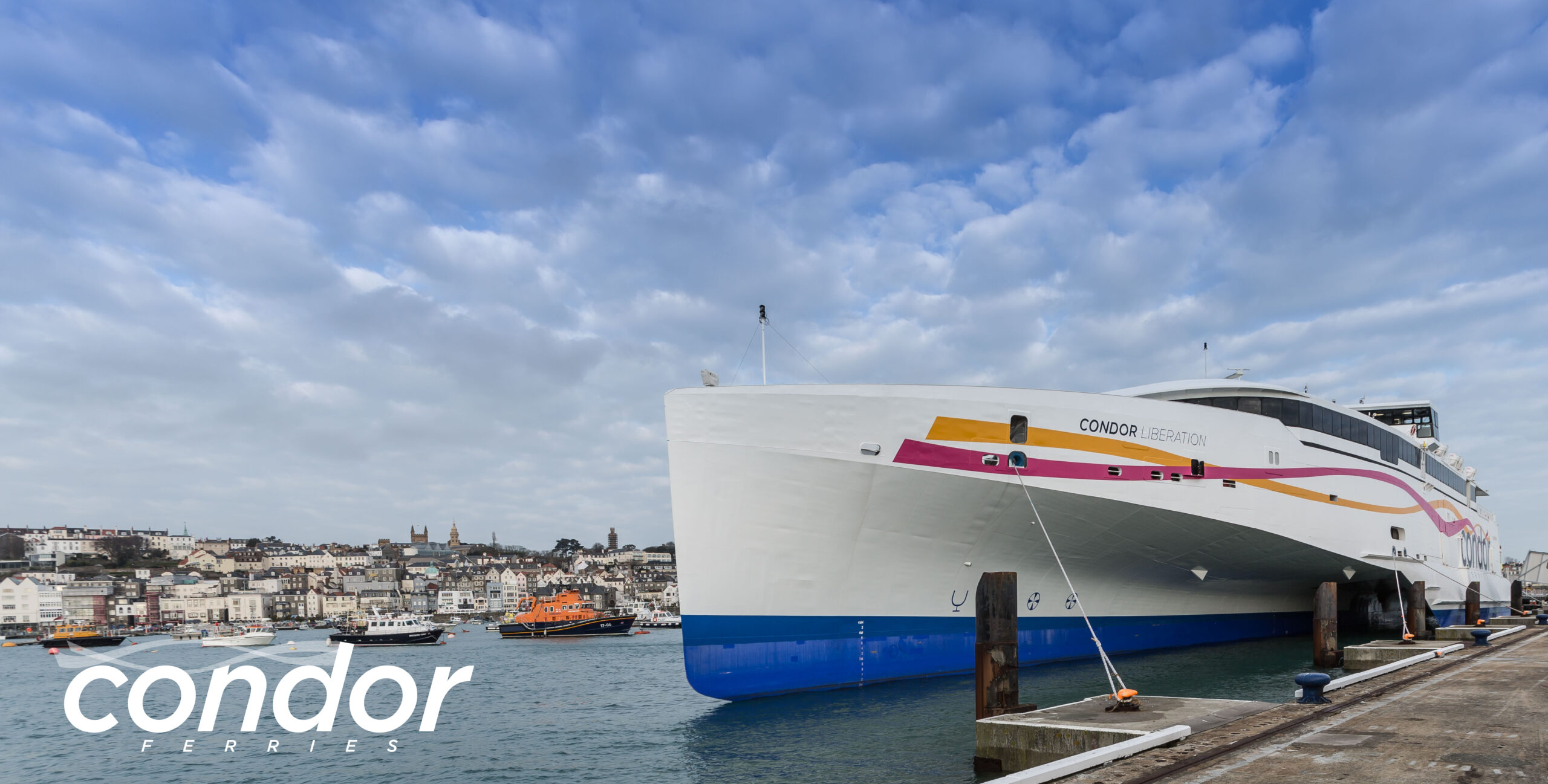 Condor Liberation first official visit to Guernsey and Jersey. | Swanage