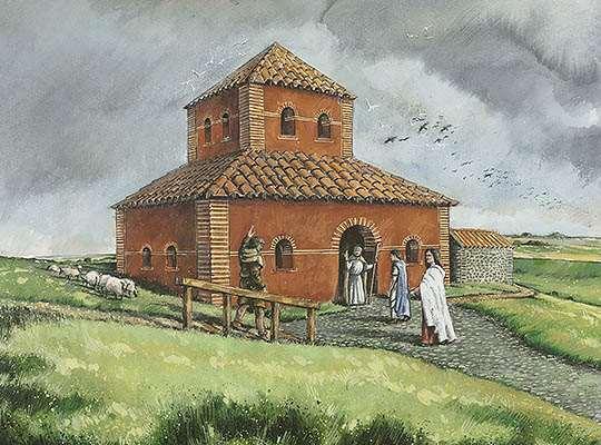 romano-british-temple   Maiden Castle