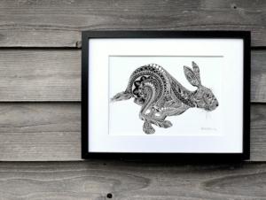 running hare TLCS | The Running Hare