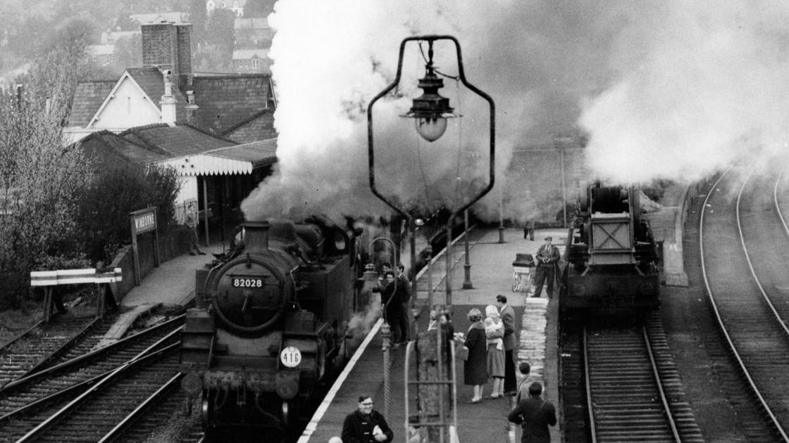 Wimborne Station 1964 | Railway Mania