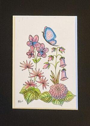 20201122_154652~5 | Flower study in pinks print