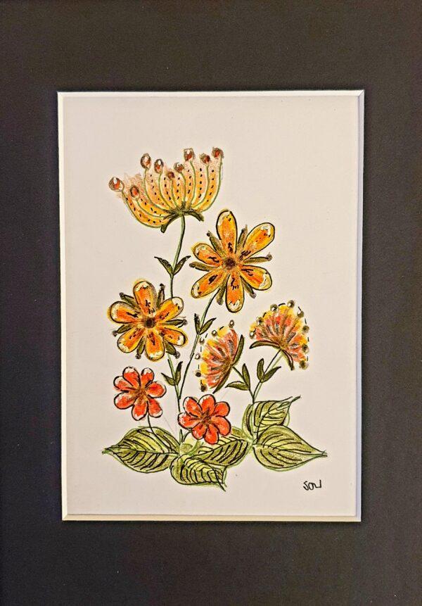 20201122_161118~2 | Flower study in yellow print