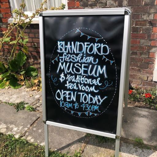 Blandford Fashion Museum sign | Deer
