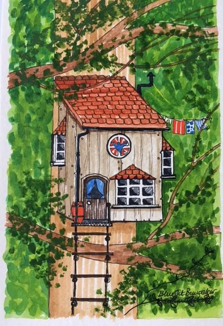 bird-box-cabin   Bird Box House Print