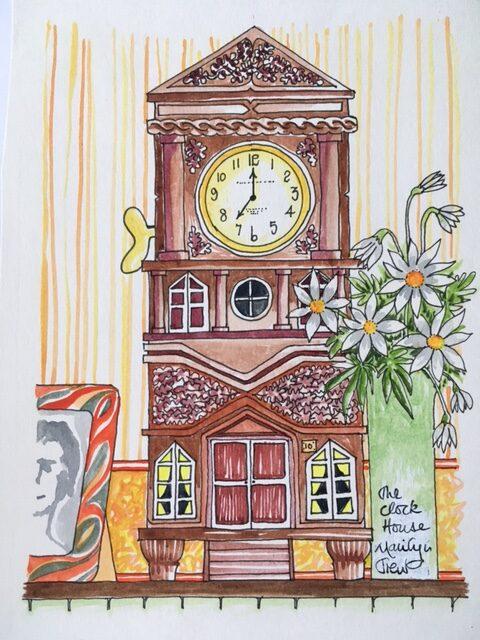 clockhouse | The Clockhouse Print