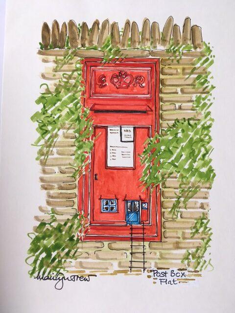 postbox-flat | Postbox Flat Print