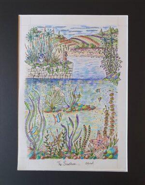 seashore v2 | Seashore print