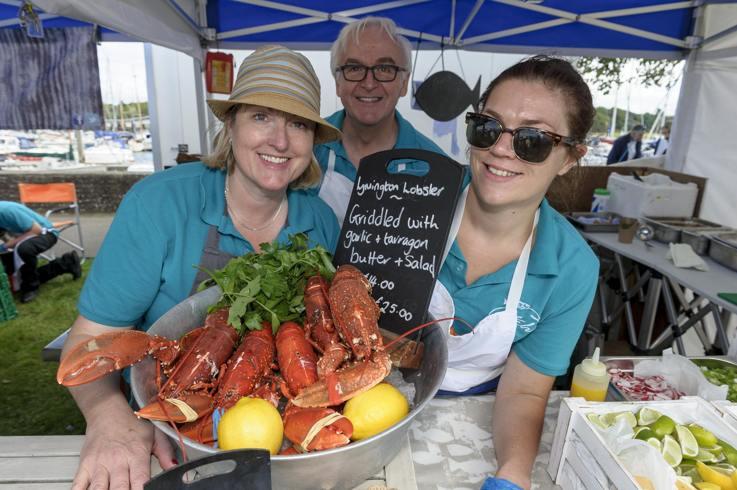 Seafood at the Festival | Deer