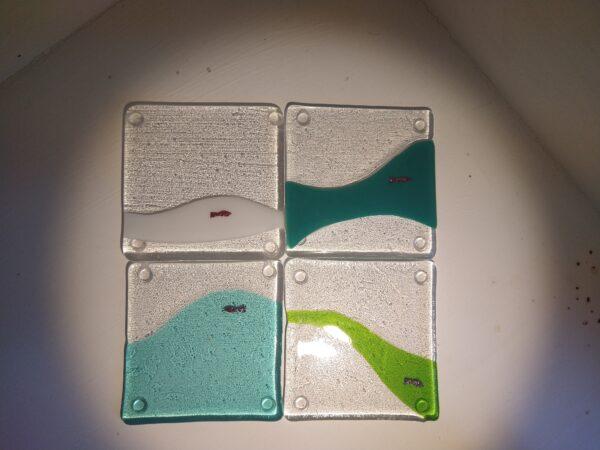 IMG_20200812_142035277_MP | Fish coasters, 4 set