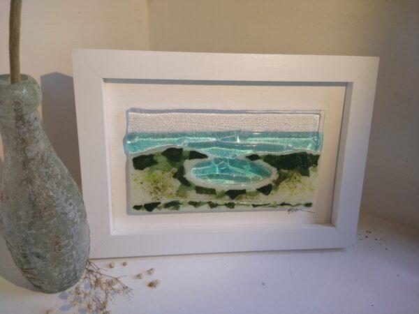 Lulworth frame large | Lulworth Cove frame (large)