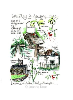 "Bovington 0120 | Giclée print ""Bovington Walk"""