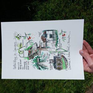 "Bovington 0120 photo | Giclée print ""Bovington Walk"""